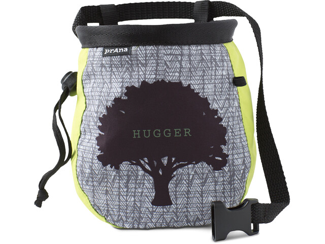 Prana Graphic Chalk Bag mit Gürtel lime tree hugger